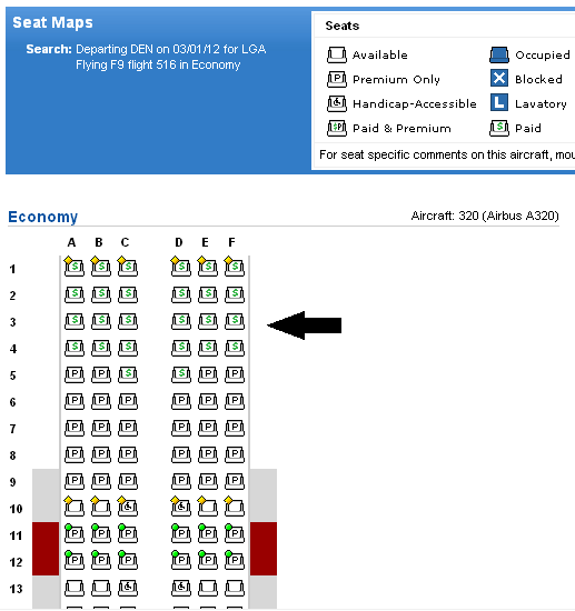 Paid Seat on Seat Map