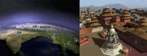 virtual travel brought to life