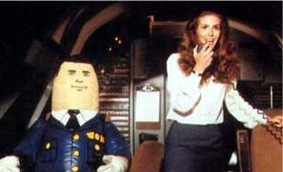 "Otto the Auto Pilot pictured from the movie ""Airplane"""