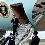 Obama, Airforce One