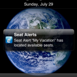Seat Alerts Push Notification