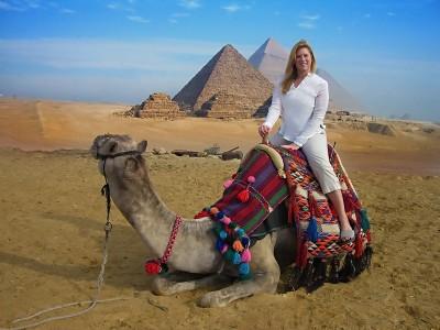 Jenny McIver in Cairo
