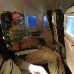 unruly passenger on Icelandair