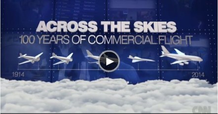 100 years of commercial aviation