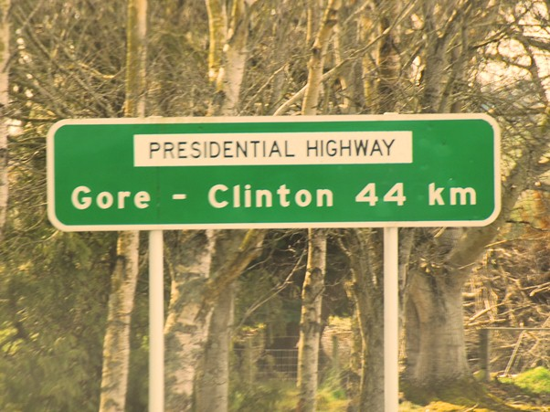 presidential highway gore-clinton